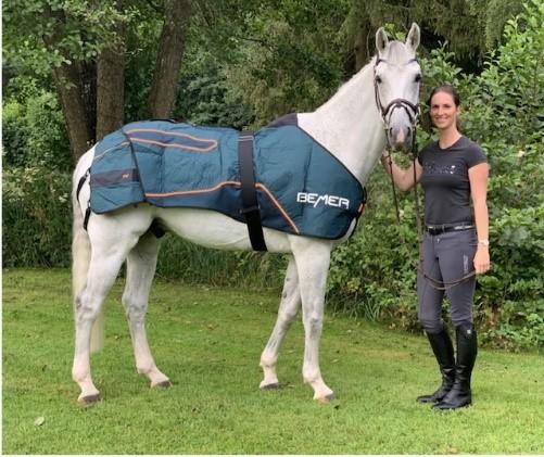 Simone Blums BEMERerfarenheter både för häst och ryttare