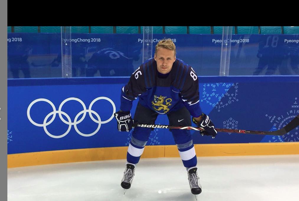 VM-ishockeyspelaren Veli-Matti Savinainen fick en god återhämtning och bättre sömn